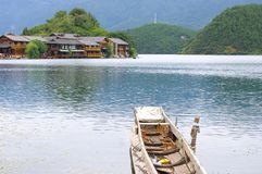 Beautiful Lake. China Lijiang, the beautiful lake Stock Photos