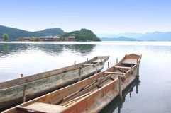 Beautiful Lake. China Lijiang, the beautiful lake Stock Photography