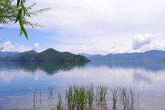 Beautiful Lake. China Lijiang, the beautiful lake Royalty Free Stock Image