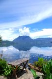 Beautiful Lake. China Lijiang, the beautiful lake Royalty Free Stock Photos