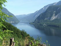 Beautiful Lake. This view is the prize of a hiking tour and replaces for all efforts Stock Images