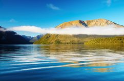 Beautiful lake Stock Image