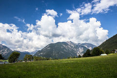 Beautiful lake of  Achensee Stock Photos