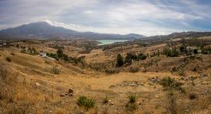 Beautiful lake at Alhama de Granada, Spain Royalty Free Stock Images