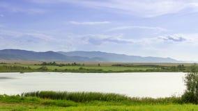 Beautiful lake in Altai mountains royalty free stock photo