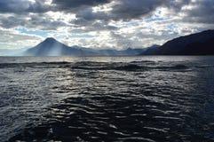 Beautiful lake of Atitlán Royalty Free Stock Photo