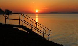 Beautiful Lake Balaton Stock Images