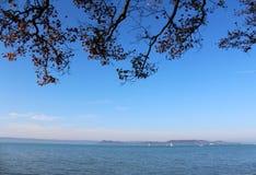 Beautiful Lake Balaton Royalty Free Stock Photography