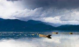The beautiful lake of china stock images
