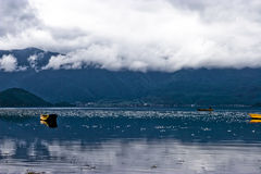 The beautiful lake of china Royalty Free Stock Photography