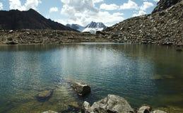 Beautiful lake in the Cordillera mountain Royalty Free Stock Photos