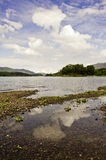 Beautiful Lake District landscape. A beautiful view of the Windermere lake in the Lake District, Cumbria, UK Stock Photos