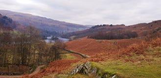 Beautiful Lake District National Park royalty free stock photo
