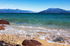 Beautiful lake Garda, Italy. Royalty Free Stock Photography
