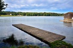 Beauty sunny day on the lake Royalty Free Stock Photos