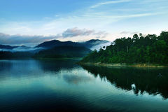 The beautiful lake. Image of the beautiful lake Stock Photography