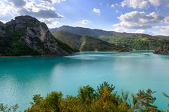 Free Beautiful Lake In France Royalty Free Stock Images - 108476279