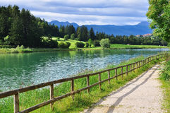 Beautiful lake in Italy Stock Image