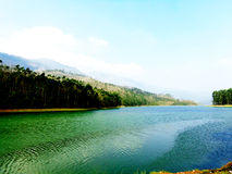 Munnar Eco Point - A beautiful Lake in Kerala Royalty Free Stock Photo