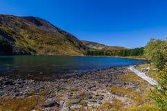Beautiful lake landscape Royalty Free Stock Photos