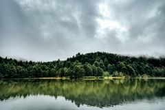 Beautiful Lake Landscape Stock Image