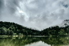 Beautiful Lake Landscape Royalty Free Stock Image
