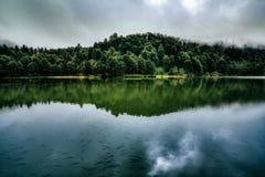 Beautiful Lake Landscape Royalty Free Stock Images
