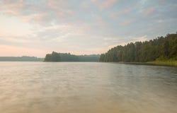 Beautiful lake landscape with nice light Stock Photos