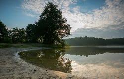 Beautiful lake landscape with nice light Stock Photo