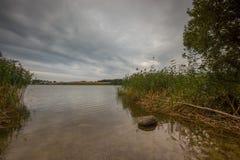 Beautiful lake landscape with nice light Royalty Free Stock Image