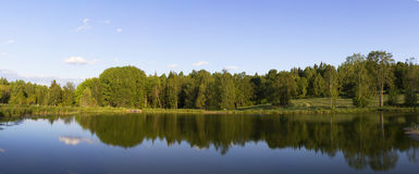 Beautiful lake landscape in Sweden Royalty Free Stock Photography