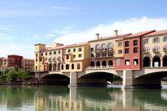 Beautiful Lake Las Vegas stock images