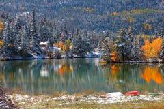 Beautiful lake Lenore Royalty Free Stock Photo