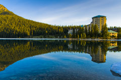 Beautiful Lake Louise Royalty Free Stock Photos