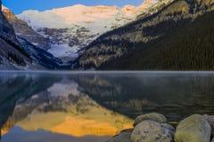 Beautiful Lake Louise Royalty Free Stock Photography