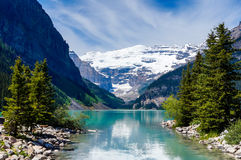 Beautiful Lake Louise Royalty Free Stock Photo