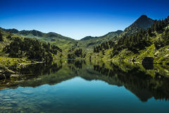 Beautiful lake Stock Images