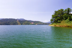 Beautiful lake in Malaysia Stock Image