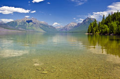Beautiful Lake McDonald Stock Photography