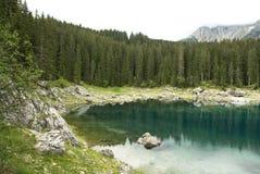 Beautiful lake in mountains Stock Photos