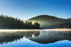 Beautiful Lake and mountains royalty free stock photo