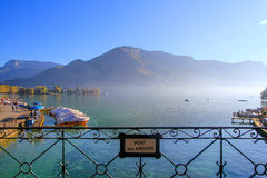 Annecy lake, France Royalty Free Stock Images
