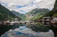 Beautiful Lake in Norway Royalty Free Stock Image