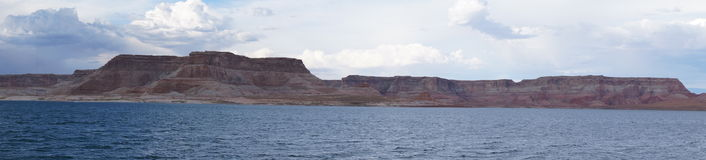 Beautiful Lake Powell Panorama Royalty Free Stock Images