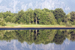 Beautiful lake reflection Royalty Free Stock Photography
