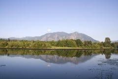 Beautiful lake reflection Royalty Free Stock Image