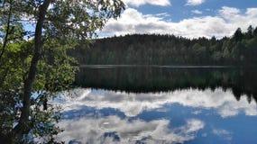 Beautiful lake. This is the lake Storsjøen in Malvik, Norway Royalty Free Stock Image