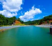 Beautiful lake. Stunning view with amazing lake Royalty Free Stock Photos