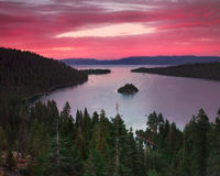 Beautiful Lake Tahoe California Royalty Free Stock Images