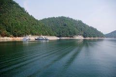 The beautiful lake Stock Images